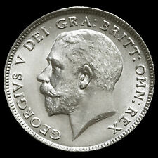 1912 George V Silver Sixpence – A/UNC