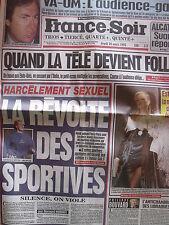 ▬►Journal France Soir 16/03/1995 Estelle Lefébure Vanessa Demouy Nahalie Baye