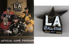 2017 ALL STAR GAME PROGRAM & ASG PIN NATIONAL HOCKEY LEAGUE NHL STADIUM ISSUE