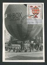 Bulgaria MK 1969 Aviation palloncino maximum carta carte MAXIMUM CARD MC cm c9217