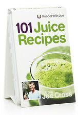 101 Juice Recipes by Joe Cross Reboot with Joe Weight Loss & Healthy Life NEW