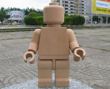 New Customize Handcrafted Wooden Lego Figure Beech Wood 28cm Tall minifigure