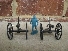 BMC Gatling Guns 2 Pack Set Western 1/32 54MM Toy Soldier Civil War