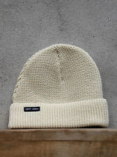 Sailors Watch Cap by Saint James in Cream- Chunky Wool Knit Hat - Made in France