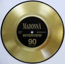 MADONNA 45 Interview Record NEAR MINT Made In The UK 1990 Spoken Word e3188