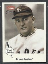 2002 Fleer Greats of the Game Baseball - #23 - Rogers Hornsby - Cardinals