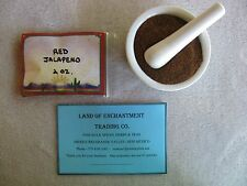 NEW MEXICO *HOT* RED JALAPENO CHILE POWDER  2 OUNCES   *Free USA Shipping*