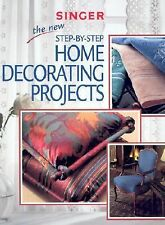 T) Singer Home Decorating Projects 100's Color Pictures - - $24.95 when new