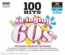 100 HITS SWINGING SIXTIES MUSIC COLLECTION NEW 5 CD ALBUM ORIGINAL ARTISTS