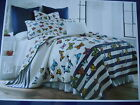 PAPILLON Butterly Collection 3pc Full Queen Quilt 2 Shams