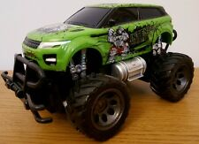 MONSTER TRUCK RANGE ROVER EVOQUE Radio Remote Control Car  FAST SPEED 1:24 GREEN