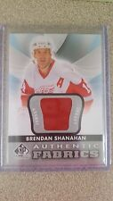 2012 13 SP Game Used Brendan Shanahan Authentic Fabrics jersey Red Wings