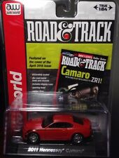 Auto World 1:64 2011 Chevy Hennessey Camaro Red Road & Track ZR1 #3