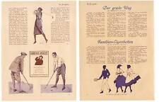 """Golf-Tennis-Art Deco-Mode aus """"Der Junggeselle"""" 1921"""