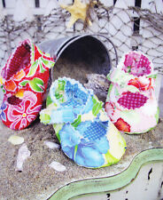 PATTERN - Quilted Baby Criss Cross - Fun baby shoe PATTERN - Curbys Closet