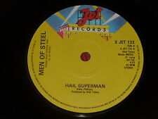 Men Of Steel:  Hail Superman  UK  Near Mint Unplayed  7""