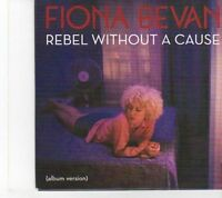 (EY630) Fiona Bevan, Rebel Without A Cause - 2014 DJ CD