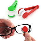 Kreative Mini-Brillenreiniger Pinsel Sunglasses Spectacles Mikrofaser Brillen x1