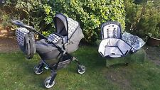 Silver Cross Wayfarer pushchair Stroller Limited edition SAFARI Carrycot bag