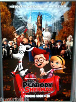 Cinema Poster: MR PEABODY & SHERMAN 2014 (Main One Sheet) Ty Burrell Mel Brooks