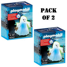 Pack of 2 PLAYMOBIL Castle Ghost with Rainbow Led Playset Building Kit Ages 4-10