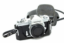Nikon Nikkormat FT Fotocamera Chassis in Chrome + Borsa