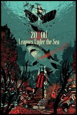 20000 LEAGUES UNDER THE SEA Limited edition print RAID71 DISNEY JULES VERNE 24x3