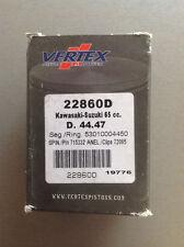 Vertex Piston Kit Standart 44.47mm  22860D 00-15 Kawasaki KX 65,Suzuki RM 65
