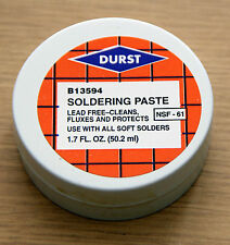 Durst B13594 Lead Free Soldering Paste 1.7 oz  USA made