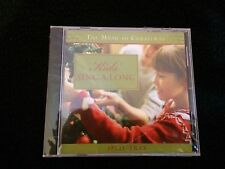 Kids' Sing-A-Long The Music Of Christmas CD Brand New Sealed Fast Free Shipping