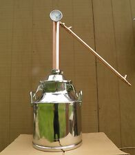 "5 Gallon Still with 2"" Copper Whiskey Column, Moonshine Still, Whiskey Still"