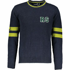 FRED PERRY X RAF SIMONS JUMPER SWEATER XL UK44 RRP £225 alpaca wool RARE