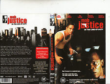 Mob Justice:In The Line of Duty-1991-Tony Danza-Movie-DVD