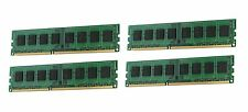 NEW! 16GB (4x4GB) Memory PC3-10600 ECC Unbuffered HP Compaq ProLiant ML110 G7