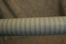 GREEN PINSTRIPE Roll of Sunworthy Durable Vinyl Coated 55.4 Sq.ft Wall Paper