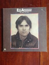 Eric Andersen Be True To You 1975 Arista LP Folk NM/EX