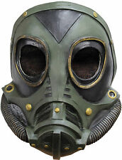 WW2 US ARMY M3A1 GAS MASK LATEX RUBBER SOLDIER TV FILM FANCY DRESS NEW
