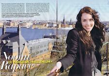 COUPURE DE PRESSE CLIPPING 2009 NOOMI RAPACE (4 pages)