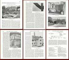 1931 Hay's Farm Beckley Historic Sussex House Old Article
