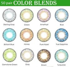 50pair 13 colors fresh colorblend contacts lenses 3 Tones EYE Makeup Cosmetic