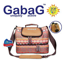 Baby Cooler Bag, Breastfeeding, Lunch Picnic Travel & 2 Packs of Ice Gel - Tribe