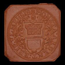 ULM: Medaille ohne Jahr (1922). ½ Taler-Klippe 1704. MAJOLIKA-WERKE GAILDORF.