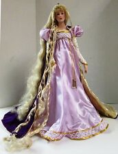 Vintage Franklin Mint Rapunzel Porcelain Heirloom Doll