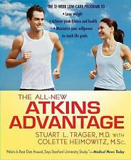 The All-New Atkins Advantage: The 12-Week Low-Carb Program to Lose Wei-ExLibrary