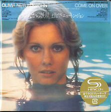 OLIVIA NEWTON JOHN COME ON OVER JAPAN MADE SHM MINI LP CD NEW OOP UICY-94712