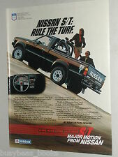 1985 Nissan ad, Nissan S/T pick-up truck
