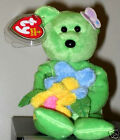 Ty Beanie Baby ~ RAINE the Bear ~ TY Store Exclusive ~ MINT with MINT TAGS
