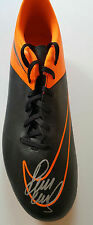 PAUL SCHOLES Signed Football Boot MANCHESTER UNITED Legend COA