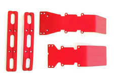 T-Maxx or E-Maxx Red Anodized Skid Plate and Bumper Deal