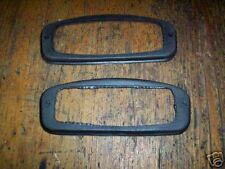 (Pair) TRIUMPH Herald Vitesse MG Midget FRONT INDICATOR RUBBER GASKET SEALS x2
